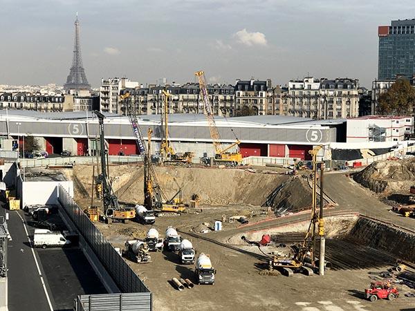 Rodio gmbh spezialtiefbau for Paris expo porte de versailles parking